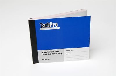 Vehicle Check Defect Report Sheet System Forms HGV LGV Bus 50 Page Books