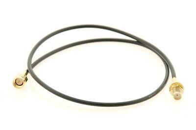 Alda PQ Cable de Conexión Con Casquillo 50cm, RG174 Para SMA /...