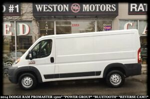 2014 Ram Promaster 1500*POWER GROUP*BLUETOOTH*REVERSE CAM!!*