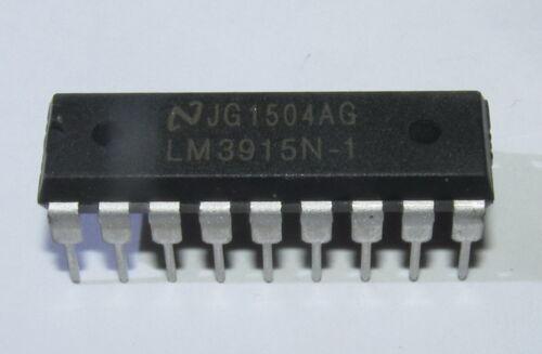 LM3915N LM3915 Dot/Bar LED LCD Nixie Display Driver DIP18