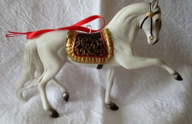 Vintage 2009 BREYER ORNAMENT ~ Beautiful Breeds Andalusian ~ Seventh in Series