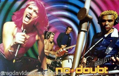 No Doubt 23x35 Return Of Saturn Poster Gwen Stefani