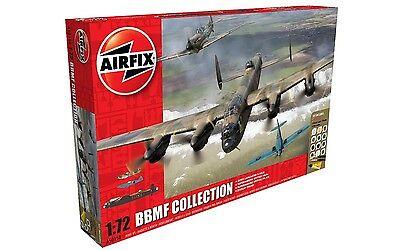 Airfix BBMF Collection Gift Set -3 Plane Set 1:72 Scale Plastic Model Set A50158