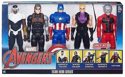 Marvel Avenger's Titan Hero Series Exclusive 5 Figure Set