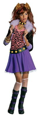 Clawdeen Wolf Monster High Child Costume by Rubie's
