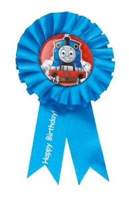 Thomas the Train Engine Ribbon Guest of Honor Party Supply Decoration