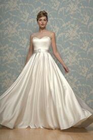 white rose wedding dress for sale