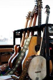 Acoustic Guitarist / Banjoist Available