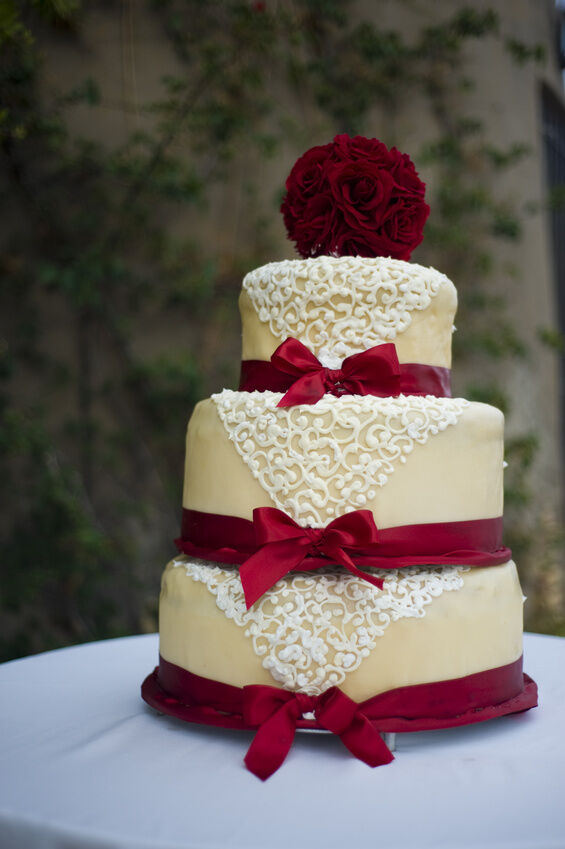 How to Make a Vintage Lace Wedding Cake | eBay