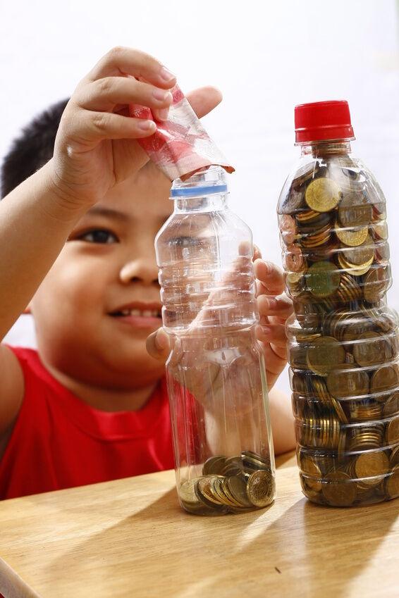Top 5 coin bank ideas for children ebay for Big bottle coin banks