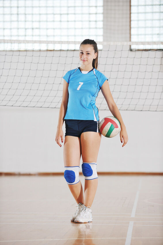 Volleyball Essentials for College Women In Volleyball Shorts