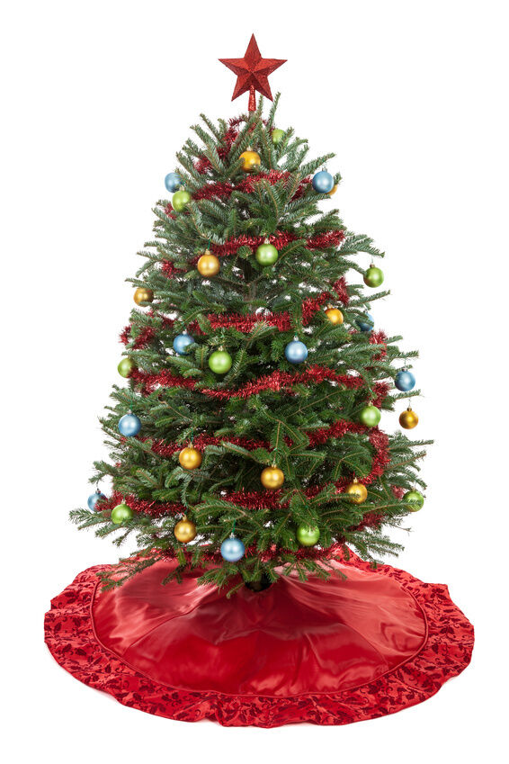 Ideas for decorating your home with a small christmas tree Large decorated christmas trees