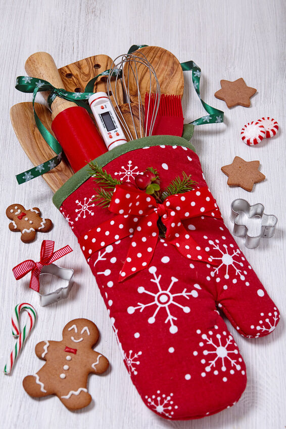 Diy gift baskets quick presents on the fly ebay for Christmas kitchen gift basket ideas
