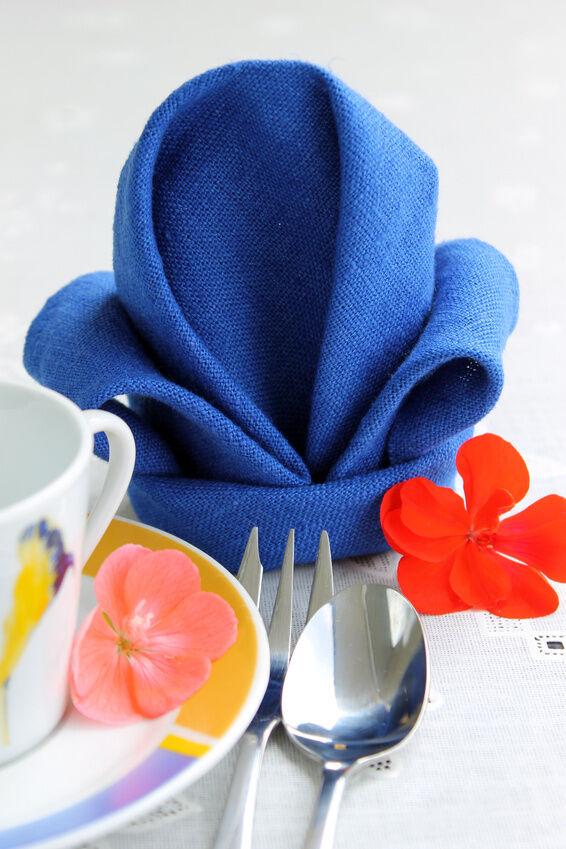 Tissue napkin folding ideas ebay - Paper napkin folding ideas ...