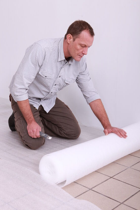 How to Lay Vinyl Floor Tiles