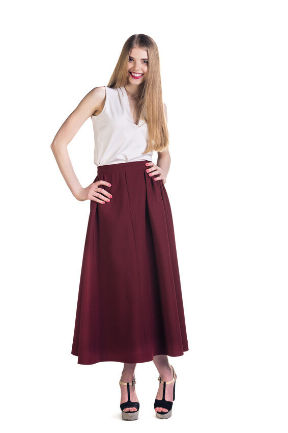 How to Wear a Long Skirt | eBay