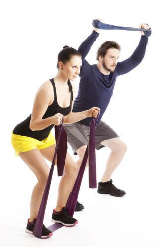 Buntes Band mit großer Wirkung: Training mit dem Theraband