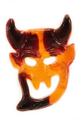 Wer versteckt sich hinter der Gelatine-Maske?