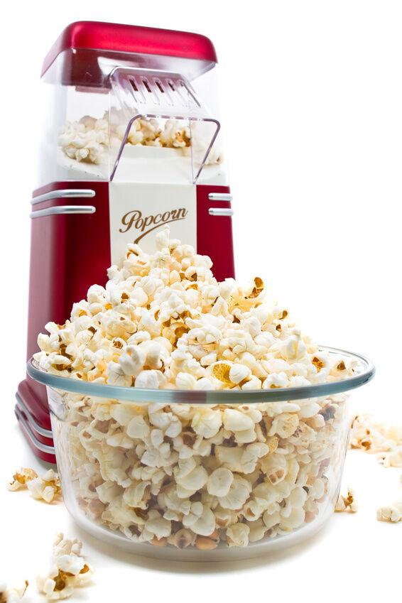 popcorn machine how to use