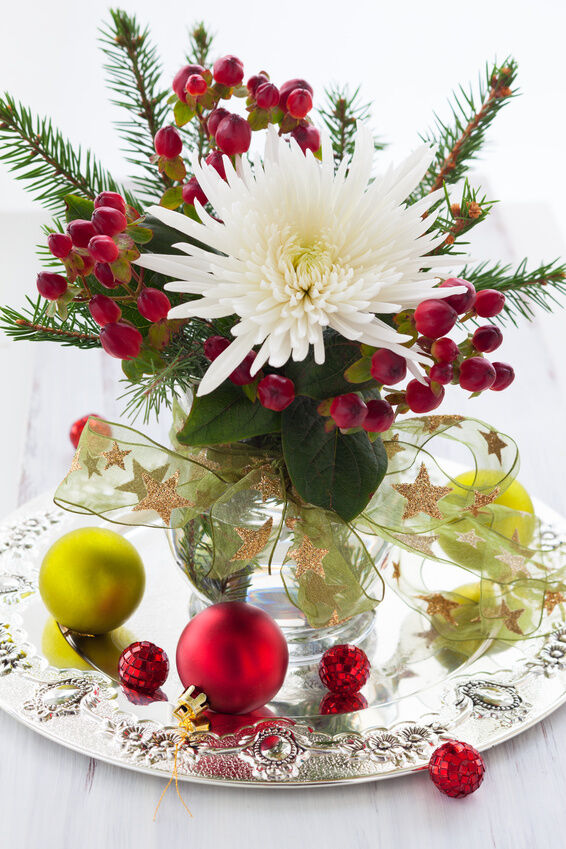 How To Make Flower Arrangements For Winter