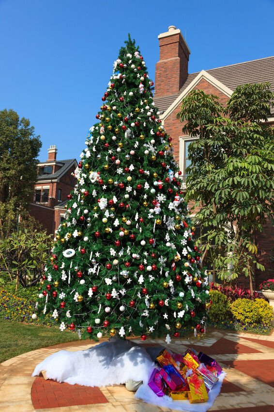 Christmas Decorating Ideas Front Yard : Front yard christmas decorating ideas the neighbors won t