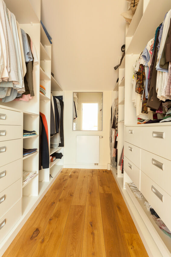 How to Install a Wardrobe Storage Solution