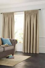 full length rufflette/pencil pleat block out curtains Cameron Park Lake Macquarie Area Preview