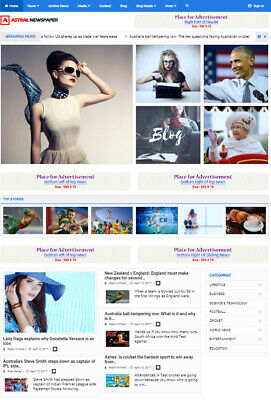 Complete Professional Website For News Publishing And Affiliate Marketing
