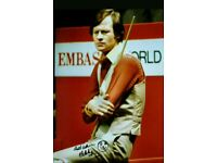 Snooker & billiards collection.