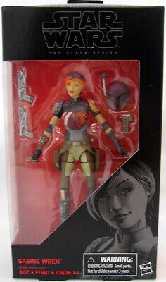 Star Wars The Force Awakens 6 Inch Figure The Black Series - Sabine Wren #33
