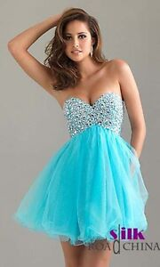 Short Homecoming Party Prom dresses CocktailGown Stock Size 6 8 10 12 14 16
