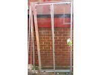 Shower enclosure sliding door