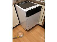 New World Intergrated Slimline Dishwasher spares or repairs