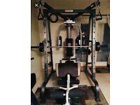 Multi Gym - Marcy Diamond Elite MD9010G Smith Machine Home Gym