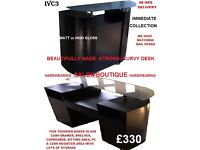 ClearanceSale! NEW High Gloss Reception Desk Counter Antique Hydraulic Barber Chair BackWash Station