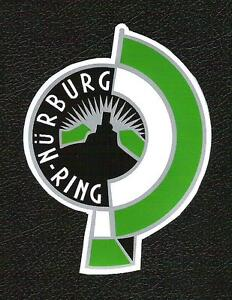 Nurburgring, Nurburg-Ring Sticker, Vintage Sports Car Racing Decal