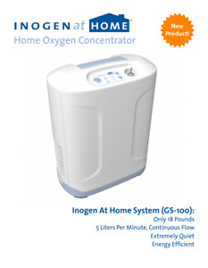 Inogen At Home Oxygen Concentrator - 5L/Min