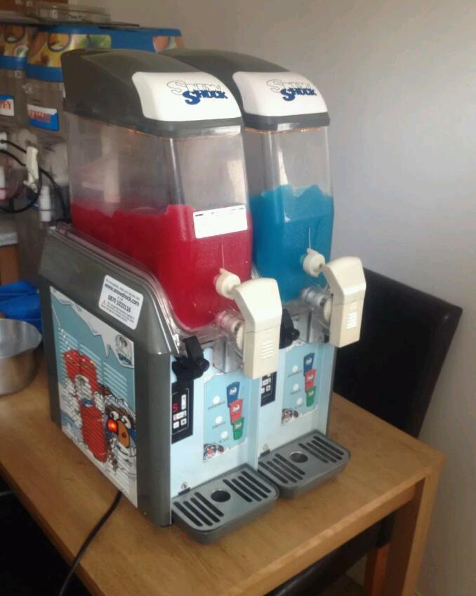 Snow Shock Commercial Slush Machine Great Working Order 163