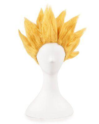 Dragon Ball Z Super Saiyan 2 Goku Son Gokou Wig Costume Cosplay Party Anime Hair - Dragon Ball Z Saiyan Costume