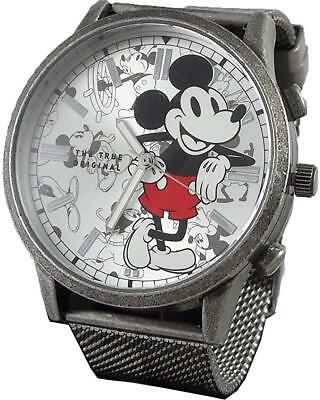 Mickey Mouse Wrist Watch - Disney Mickey Mouse Men's Metal Watch MK8053