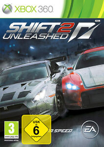 Need For Speed - Shift 2 Unleashed *** XBOX360 Spiel *** NEU OVP deutsch