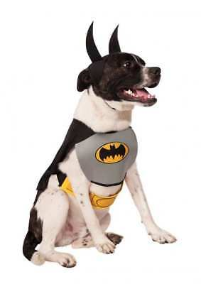 Rubie's Pet Shop DC Comics Batman Dog Costume Size Large Halloween superhero ()