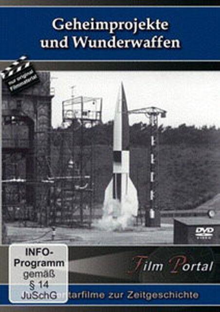 Geheimprojekte & Wunderwaffen - DVD - V-Waffen 3. Reich