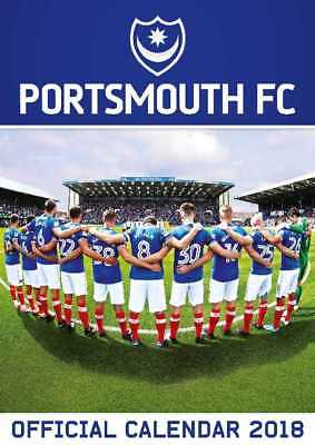 Portsmouth Football Club FC Official 2018 A3 Wall Calendar Poster PFC Pompey