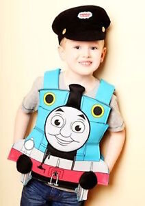 Book Week Child Thomas The Tank Engine tabard fancy dress for 3,4 5 years old