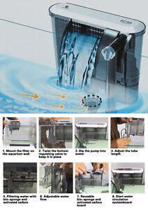 Pompa filtro esterno per da acquario effetto cascata 200 for Pesci da esterno