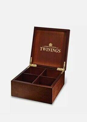 Twinnings 4 Compartment Tea Box
