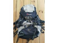 For sale is a Berghaus Antaeus 60+10 Biofit backpack.