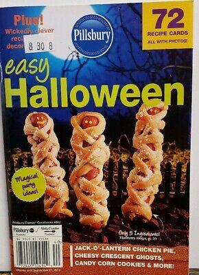 Easy Halloween Ideas (Pillsbury Easy Halloween #362 Party Ideas Recipe Cards FREE SHIPPING)
