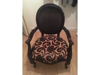 Louis style bedroom/boudoir chair (from Laura Ashley sample sale)